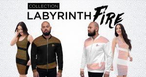 Découvrez la collection Labyrinth Fire par DANÇ'ART.