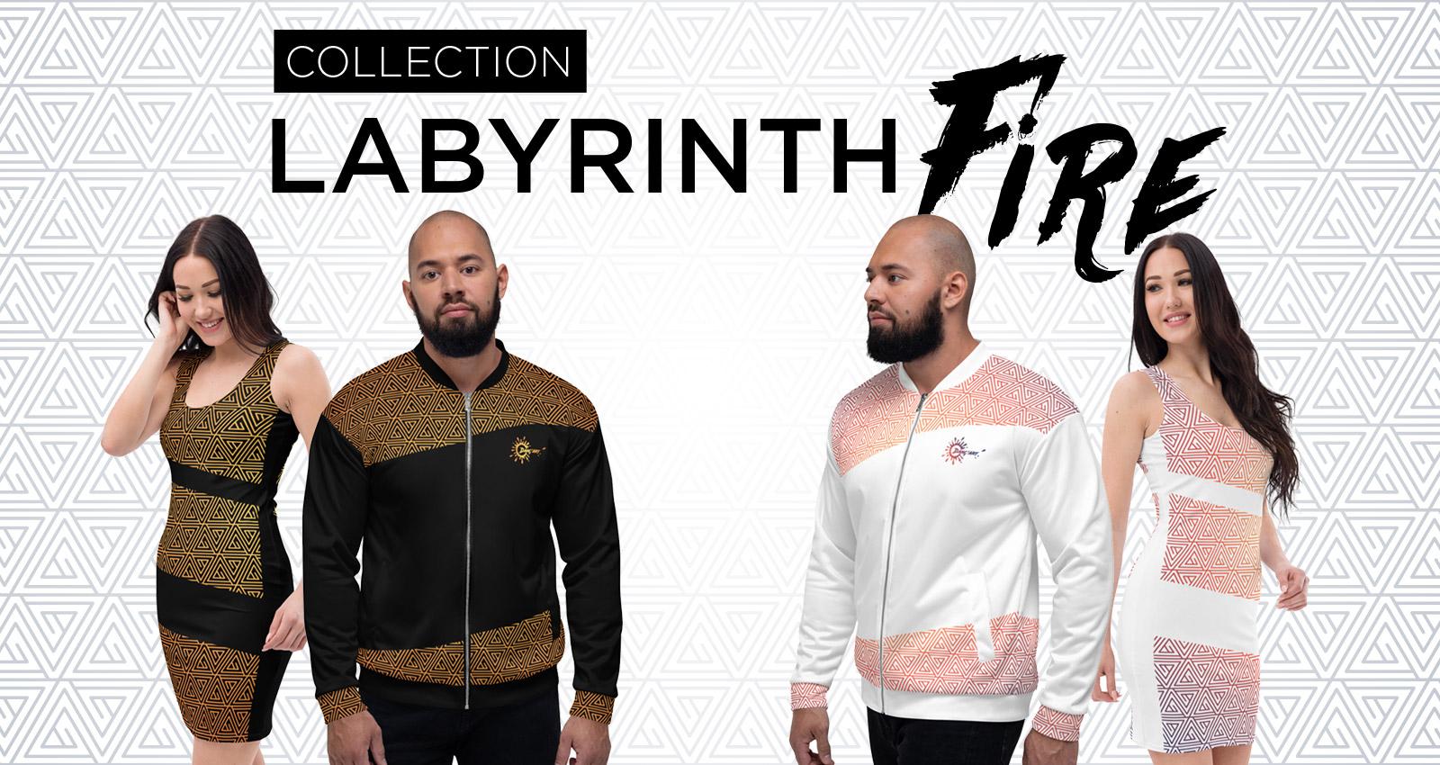 Découvrez la collection Labyrinth Fire par DANÇ'ART.