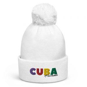 Bonnet à pompon – CUBA COLOR