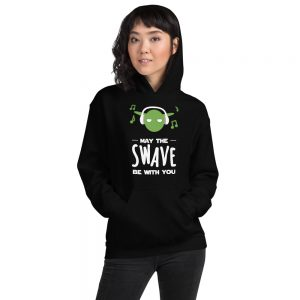Sweat à capuche Black – May the Swave be with you