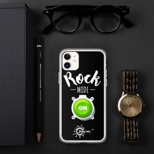 Coque pour iPhone – Rock mode ON