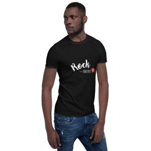 T-shirt Black Unisexe – Rock Forever <3