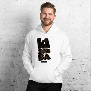 Sweat à capuche White – Just dance it – KIZOMBA
