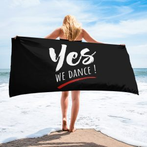 Serviette Black – YES We Dance !
