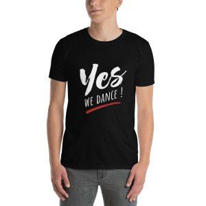 T-shirt Black Unisexe – YES We Dance !