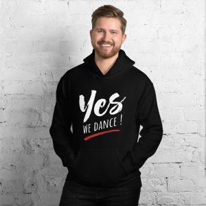 Sweat à capuche Black – YES WE DANCE !