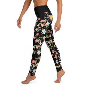 Legging Black – Flower Danç'Art