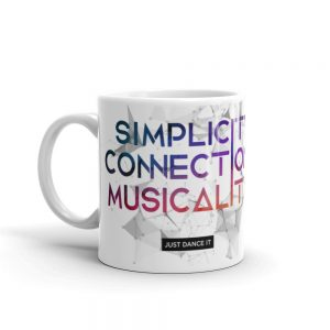 Mug Blanc Brillant White – Simplicity – Connection – Musicality