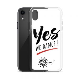 Coque White iPhone – YES We Dance !
