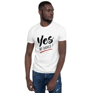 T-shirt White Unisexe – YES We Dance !