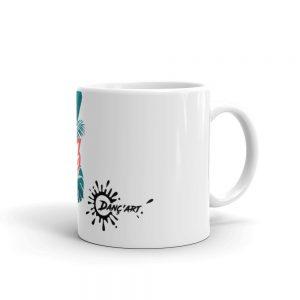 Mug Blanc Brillant – Le'ts dance Bachata