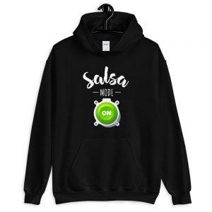 Sweat à capuche Black – Salsa mode ON
