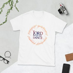 T-shirt Unisexe White – Lord of the Dance