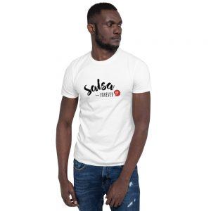 T-shirt White Unisexe – Salsa Forever <3