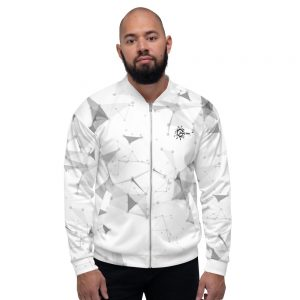 Bombers unisexe White – Simplicity – Connection – Musicality