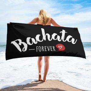 Serviette Black – Bachata Forever <3