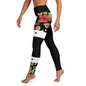 Legging Black – Sakura Flowers Dance