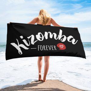 Serviette Black – Kizomba Forever <3