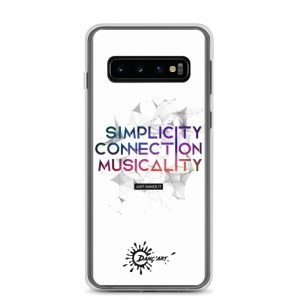 Coque Samsung White – Simplicity – Connection – Musicality