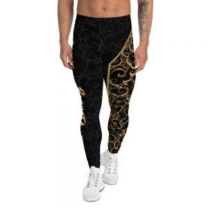 Legging pour homme Black – Spirit of the Bachata Gold