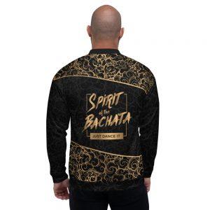 Bombers unisexe Black – Spirit of the Bachata Gold