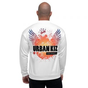 Bombers unisexe White – URBAN KIZ Just Dance it