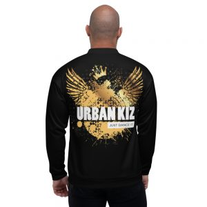 Bombers unisexe Black – URBAN KIZ Just Dance it Gold