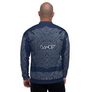 Bombers unisexe – Futuristic Dance Silver