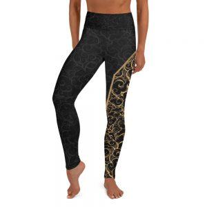 Legging Black – Spirit of the Kizomba Gold