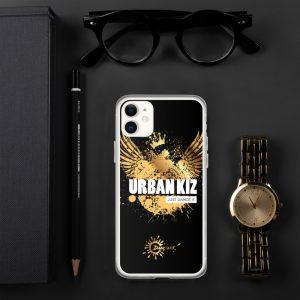 Coque pour iPhone Black – URBAN KIZ Just Dance It Gold