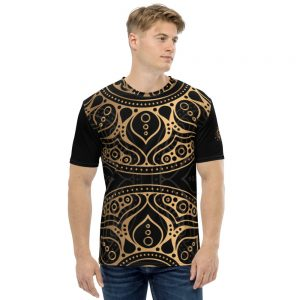 T-shirt pour Homme Black – MANDALA