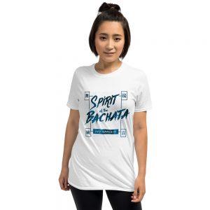 T-shirt Unisexe White – Spirit of the Bachata