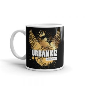 Mug Blanc Brillant – URBANKIZ Just Dance it Gold