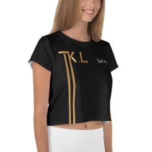 T-shirt Crop-Top Black – TKL Sport