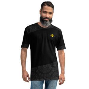 T-shirt pour Homme Black – TropiK'Lille Mandala