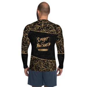 T-shirt de Compression pour Homme – Spirit of the Bachata Gold