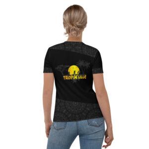 T-shirt pour Femme Black – TropiK'Lille Mandala
