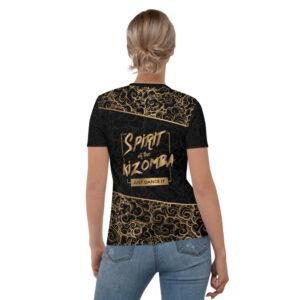T-shirt pour Femme Black – Spirit of the Kizomba