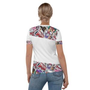 T-shirt pour Femme White – VINTAGE COLLEGE