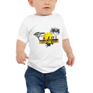 T-shirt à Manches Courtes en Jersey pour Bébé – TropiK Lille