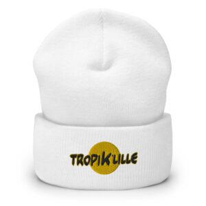 Bonnet à Revers White – Tropik'Lille