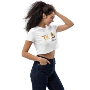 Crop top bio White – TKL Tropik Ladies