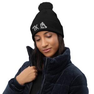 Bonnet à pompon Black – TKL