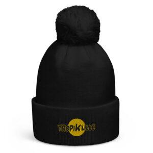 Bonnet à pompon Black – Tropik'Lille