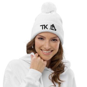 Bonnet à pompon White – TKL