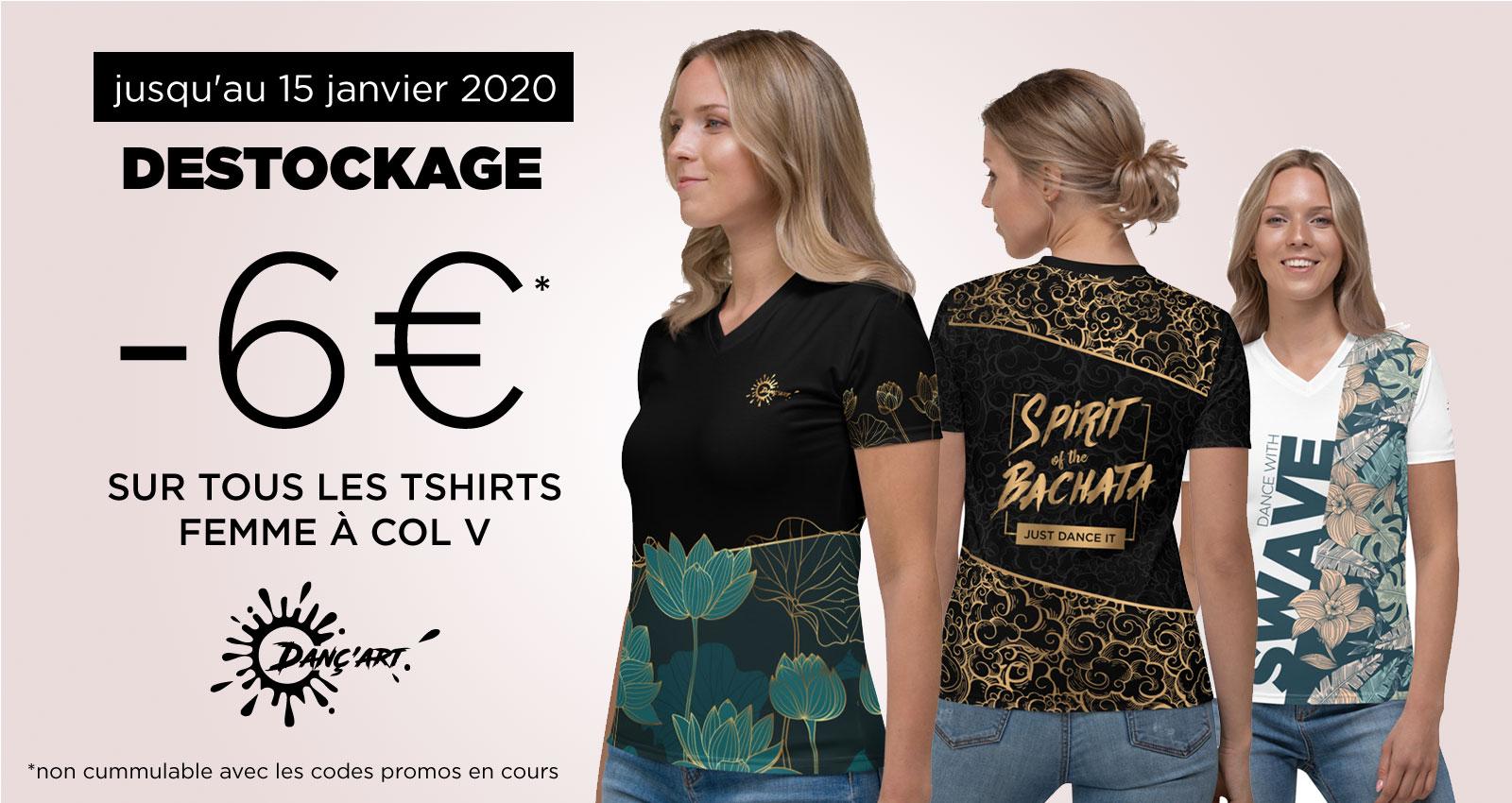You are currently viewing Fin de série pour les Tshirts Femme à Col V. Profitez d'une offre exceptionnelle !