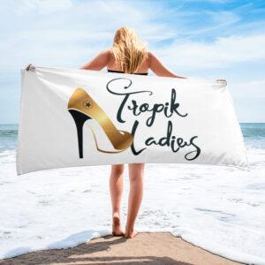 Serviette White – Tropik Ladies