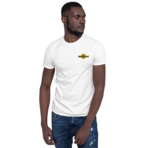 T-shirt Brodé Unisexe à Manches Courtes White – Tropik'Lille