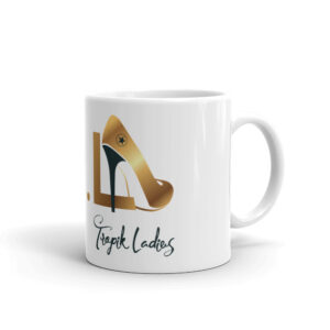 Mug Blanc Brillant – TKL Tropik Ladies