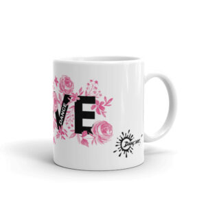Mug Blanc Brillant – LOVE DANCE